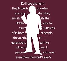 4th doctor quote shirt Unisex T-Shirt