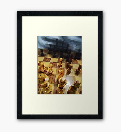 ©HS Who Moves IA Framed Print