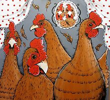 In the Chicken Coop by Sally Ford