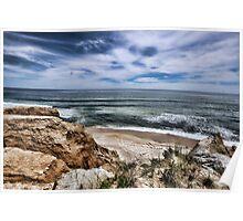 Montauk Beach Overlook Poster