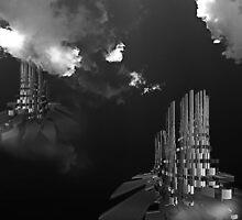©DA HCS The Towers IA Monochromatic by OmarHernandez