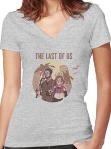 The Last of Us #1 Women's Fitted V-Neck T-Shirt