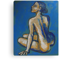 Soothing - Female Nude Canvas Print