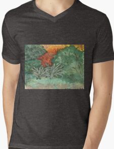 Autumn Colours Mens V-Neck T-Shirt