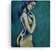 Romantic Dreamer - Female Nude Canvas Print