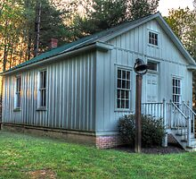 One room schoolhouse by photosbyphil62