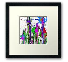 Classical Abstraction Framed Print