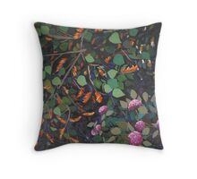 Dream Coral Tree Throw Pillow