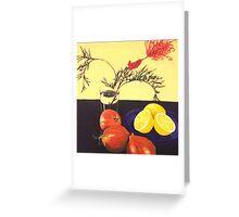 Onions and Lemons Greeting Card
