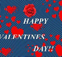 Vibrating Valentine by WildestArt