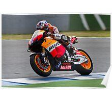 Casey Stoner in Jerez 2012 Poster