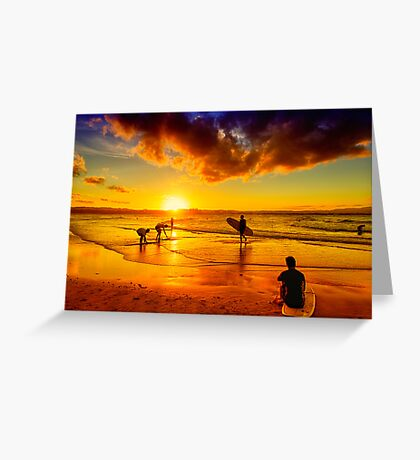 Golden Memories Greeting Card