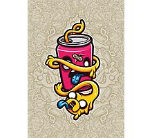 Can of Jake Cartoon Character Photographic Print