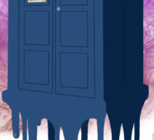 Doctor Who - TARDIS Melt Sticker