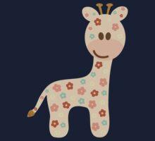 Baby giraffe One Piece - Short Sleeve