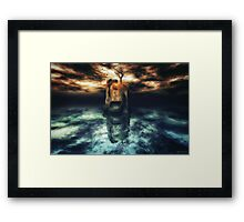 Solitude is for the Strong Framed Print