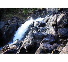 Rocky Waterfall Photographic Print