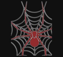 SPIDER RED One Piece - Short Sleeve