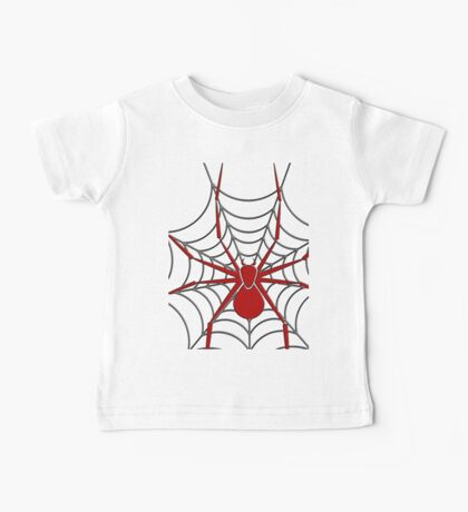 SPIDER RED Baby Tee