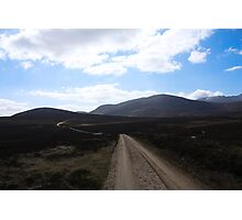 Long And Winding Road Photographic Print