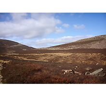 Barren Land and Sky Photographic Print