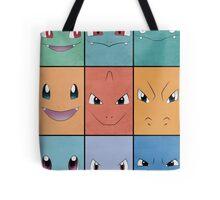 Kanto Starters - Pokemon Poster - Charizard Blastoise Venusaur Tote Bag