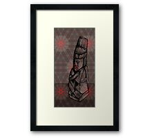 Indigenous Figure 1983 Framed Print