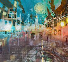 Driving Rain by Alma Lee