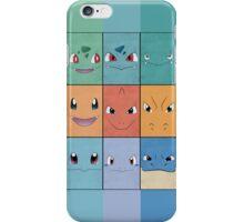 Kanto Starters - Pokemon Poster - Charizard Blastoise Venusaur iPhone Case/Skin