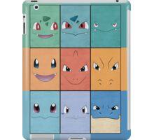 Kanto Starters - Pokemon Poster - Charizard Blastoise Venusaur iPad Case/Skin