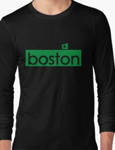 The Green Monstah Long Sleeve T-Shirt