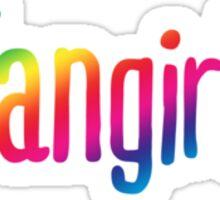 fangirl. Sticker