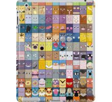 Original Kanto 151 First Generation Poster iPad Case/Skin
