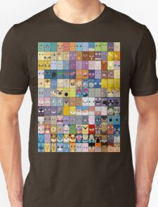 Original Kanto 151 First Generation Poster T-Shirt