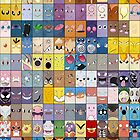Original Kanto 151 First Generation Poster by Jorden Tually