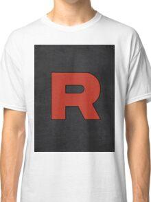 Team Rocket Logo Design Poster Pokemon Original Classic T-Shirt