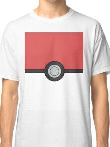 Pokemon Pokeball Minimal Design Poster Classic T-Shirt
