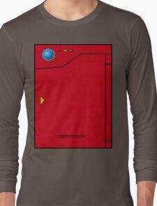 Pokedex Pokemon Design Dexter Long Sleeve T-Shirt