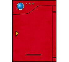 Pokedex Pokemon Design Dexter Photographic Print
