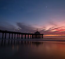 Manhattan Beach Sunset #4 by Firesuite