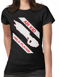 AR Kid - Halo Player Womens Fitted T-Shirt