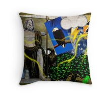 Jupiter, the King of the gods, the god of sky and thunder (month of September) Throw Pillow