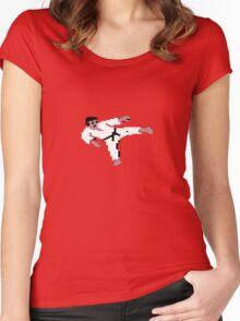 International Karate Women's Fitted Scoop T-Shirt