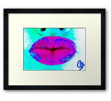Cataleas Kiss Framed Print