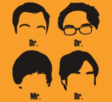 The big bang theory Dr's and Mr by JSPREZ