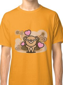 Bear_and_Hearts Classic T-Shirt
