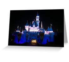Sleeping Beauty's Castle Greeting Card