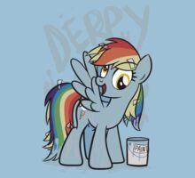 Derpy Dash (My Little Pony: Friendship is Magic) Kids Tee