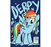 Derpy Dash (My Little Pony: Friendship is Magic) Photographic Print