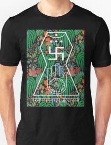 Jainism Hand and Swastika T-Shirt